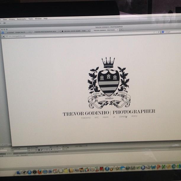 FINALLY THE NEW TREVOR GODINHO | PHOTOGRAPHER WEBSITE IS LIVE