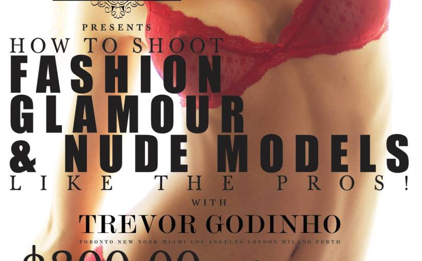 How to Shoot FASHION GLAMOUR & NUDE MODELS LIKE A PRO